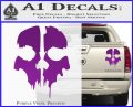 Call of Duty Ghosts Decal Purple Vinyl 120x97