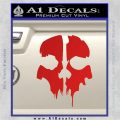 Call of Duty Ghosts Decal Red Vinyl 120x120