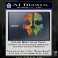 Call of Duty Ghosts Decal Sparkle Glitter Vinyl 120x120