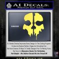Call of Duty Ghosts Decal Yelllow Vinyl 120x120