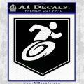 Call of Duty Stamin Up Perk Decal Black Logo Emblem 120x120