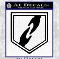 Call of Duty Whos Who Perk Vinyl Decal Black Logo Emblem 120x120