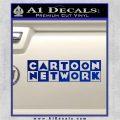 Cartoon Network Logo RDZ Decal Sticker Blue Vinyl 120x120