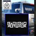 Cartoon Network Logo RDZ Decal Sticker White Emblem 120x120