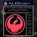 DRAGON OPTICAL LOGO VINYL DECAL STICKER Pink Vinyl Emblem 120x120
