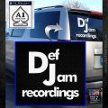 Def Jam Recordings Logo RDZ Decal Sticker White Emblem 120x120