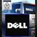 Dell Logo RDZ Decal Sticker White Emblem 120x120