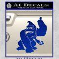 Donkey Kong Full Body SXC Decal Sticker Blue Vinyl 120x120