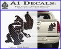 Donkey Kong Full Body SXC Decal Sticker Carbon Fiber Black 120x97