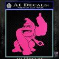 Donkey Kong Full Body SXC Decal Sticker Hot Pink Vinyl 120x120
