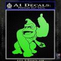 Donkey Kong Full Body SXC Decal Sticker Lime Green Vinyl 120x120