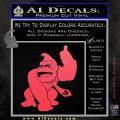 Donkey Kong Full Body SXC Decal Sticker Pink Vinyl Emblem 120x120