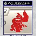 Donkey Kong Full Body SXC Decal Sticker Red Vinyl 120x120