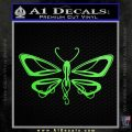 Dragonfly New D1 Decal Sticker Lime Green Vinyl 120x120