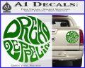 Dread Zeppelin Logo Decal Sticker VZL Green Vinyl 120x97