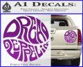 Dread Zeppelin Logo Decal Sticker VZL Purple Vinyl 120x97