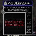 Dream Theater TXT Decal Sticker Pink Vinyl Emblem 120x120
