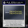 Dream Theater TXT Decal Sticker Yelllow Vinyl 120x120