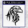 Eagle Tribal Decal Sticker Black Logo Emblem 120x120