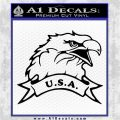 Eagle USA Decal Sticker Black Logo Emblem 120x120