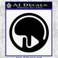 Eden of the East Decal Sticker CR1 Black Logo Emblem 120x120