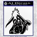 Eeyore Wave Decal Sticker Winnie the Poo Black Logo Emblem 120x120