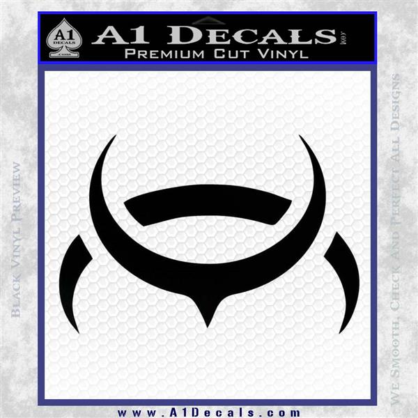 Eve Amarr Decal Sticker Black Logo Emblem