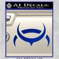 Eve Amarr Decal Sticker Blue Vinyl 120x120