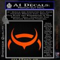 Eve Amarr Decal Sticker Orange Vinyl Emblem 120x120