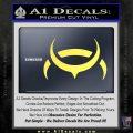 Eve Amarr Decal Sticker Yelllow Vinyl 120x120