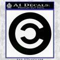 Eve Caldari Decal Sticker Black Logo Emblem 120x120