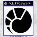 Eve Minmatar Decal Sticker Black Logo Emblem 120x120