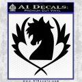 Fairy Tail Blue Pegasus Decal Sticker Black Logo Emblem 120x120