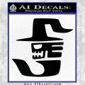 Fairy Tail Crime Sorcière Vinyl Decal Sticker Black Logo Emblem 120x120