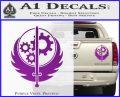 Fallout Brotherhood D4 Decal Sticker Purple Vinyl 120x97