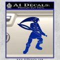 Fierce Deity Link SXC Decal Sticker Blue Vinyl 120x120
