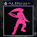 Fierce Deity Link SXC Decal Sticker Hot Pink Vinyl 120x120