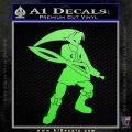 Fierce Deity Link SXC Decal Sticker Lime Green Vinyl 120x120