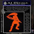 Fierce Deity Link SXC Decal Sticker Orange Vinyl Emblem 120x120