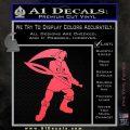 Fierce Deity Link SXC Decal Sticker Pink Vinyl Emblem 120x120