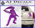 Fierce Deity Link SXC Decal Sticker Purple Vinyl 120x97
