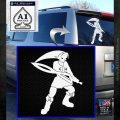 Fierce Deity Link SXC Decal Sticker White Emblem 120x120