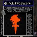 Final Fantasy 8 Logo Decal Sticker Orange Vinyl Emblem 120x120