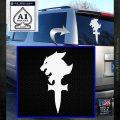 Final Fantasy 8 Logo Decal Sticker White Emblem 120x120
