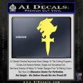 Final Fantasy 8 Logo Decal Sticker Yelllow Vinyl 120x120