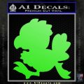 Final Fantasy Chocobo Decal Sticker D1 Lime Green Vinyl 120x120