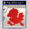 Final Fantasy Chocobo Decal Sticker D1 Red Vinyl 120x120