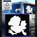 Final Fantasy Chocobo Decal Sticker D1 White Emblem 120x120