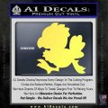 Final Fantasy Chocobo Decal Sticker D1 Yelllow Vinyl 120x120