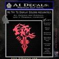 Final Fantasy Lionheart Decal Sticker DZA Pink Vinyl Emblem 120x120